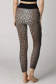 LEOPARD KNIT LEGGINGS