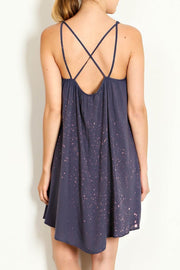 WASHED CAMISOLE COTTON DRESS