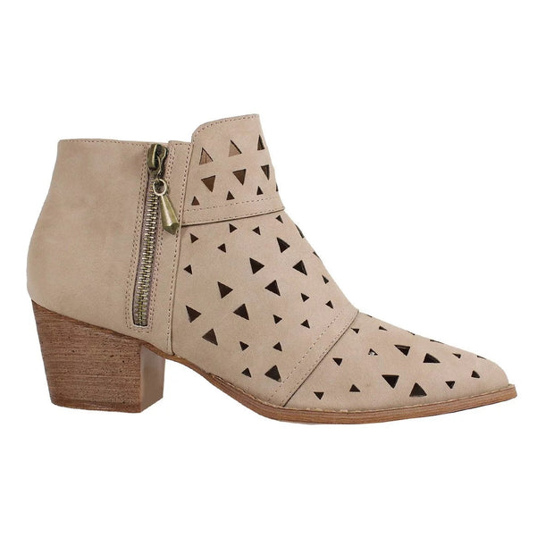 KYLIE BOOTIE WITH SIDE ZIPPER