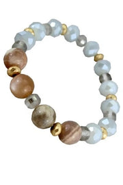 STRETCH NATURAL STONE BRACELET