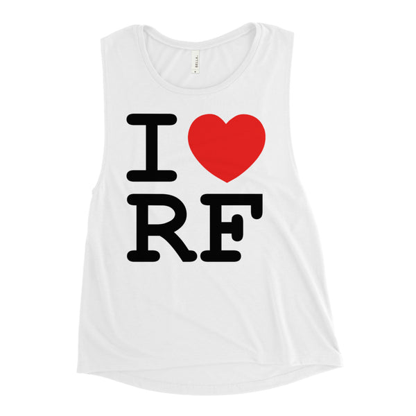 I Heart RF Ladies tank
