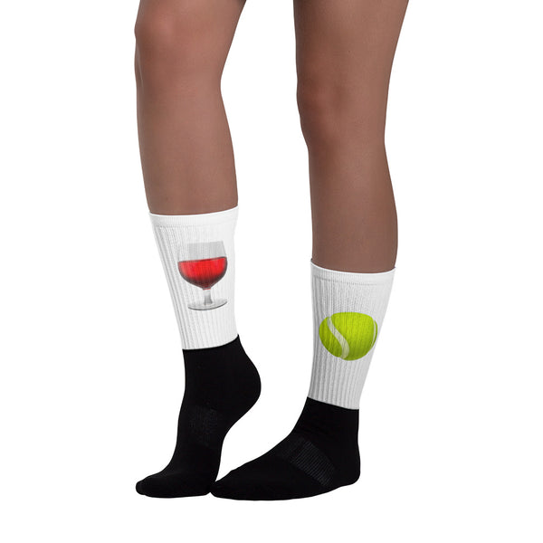Wine-Down Wednesdays socks