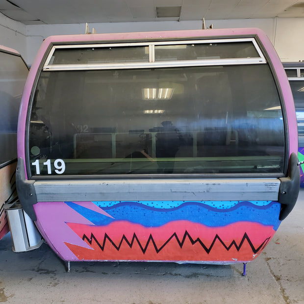 #119 ski resort gondola