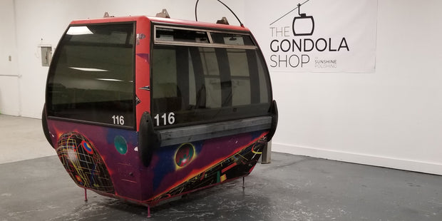#116 ski resort gondola