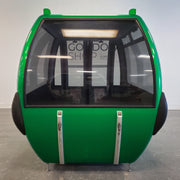 Restored Gondola - Shiny Green