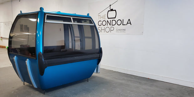 Restored Gondola - Shiny Blue