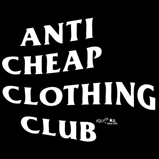 Why NOT to buy cheap clothes