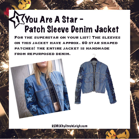 you are a star denim jacket