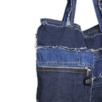 Up and Go - Reversible Denim Tote Bag