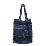 <transcy>Carry On - Sac fourre-tout réversible en denim</transcy>