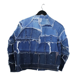 Pieces Mended - Reversible Denim Jacket
