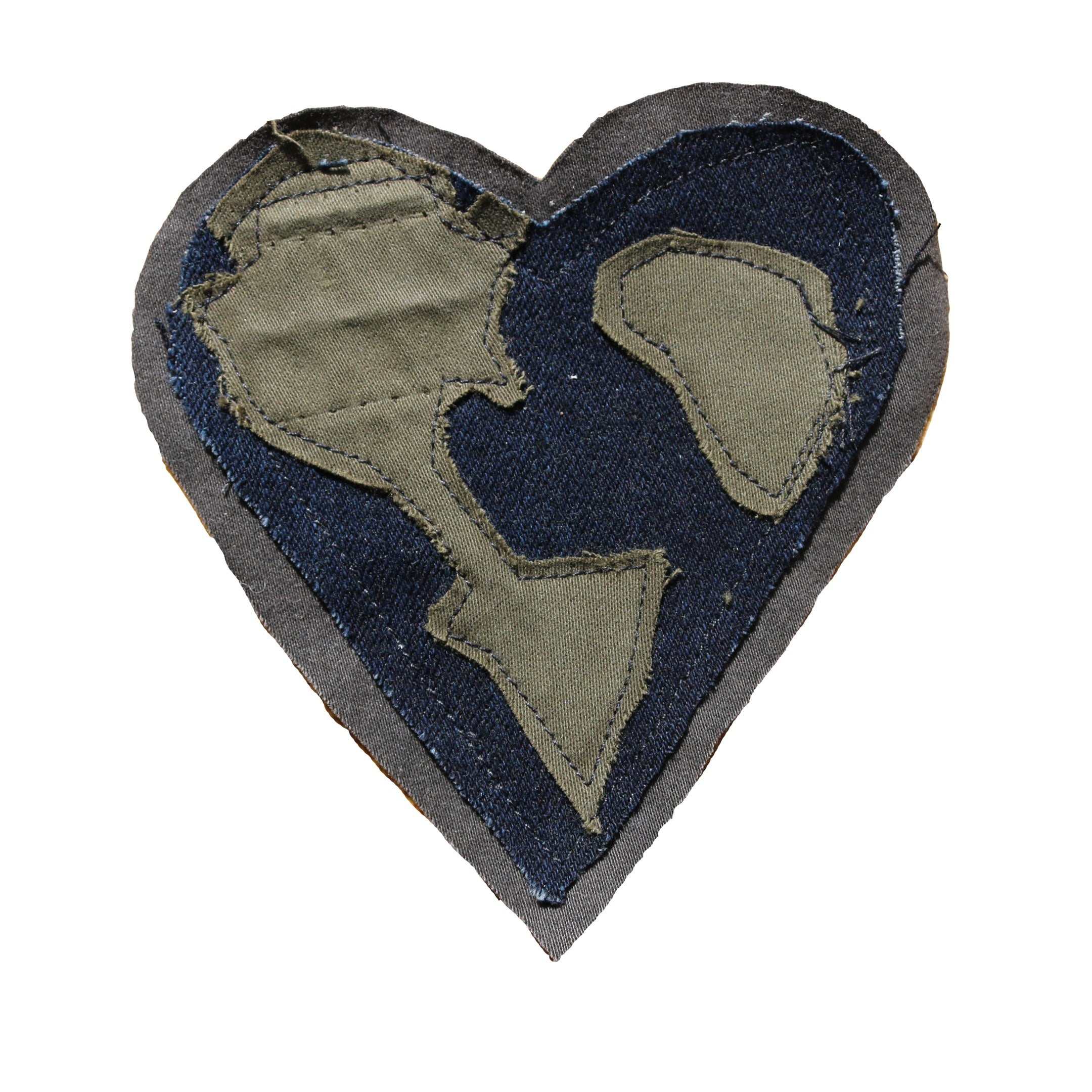 #REMIXbyStevieLeigh eco friendly earth love denim patch