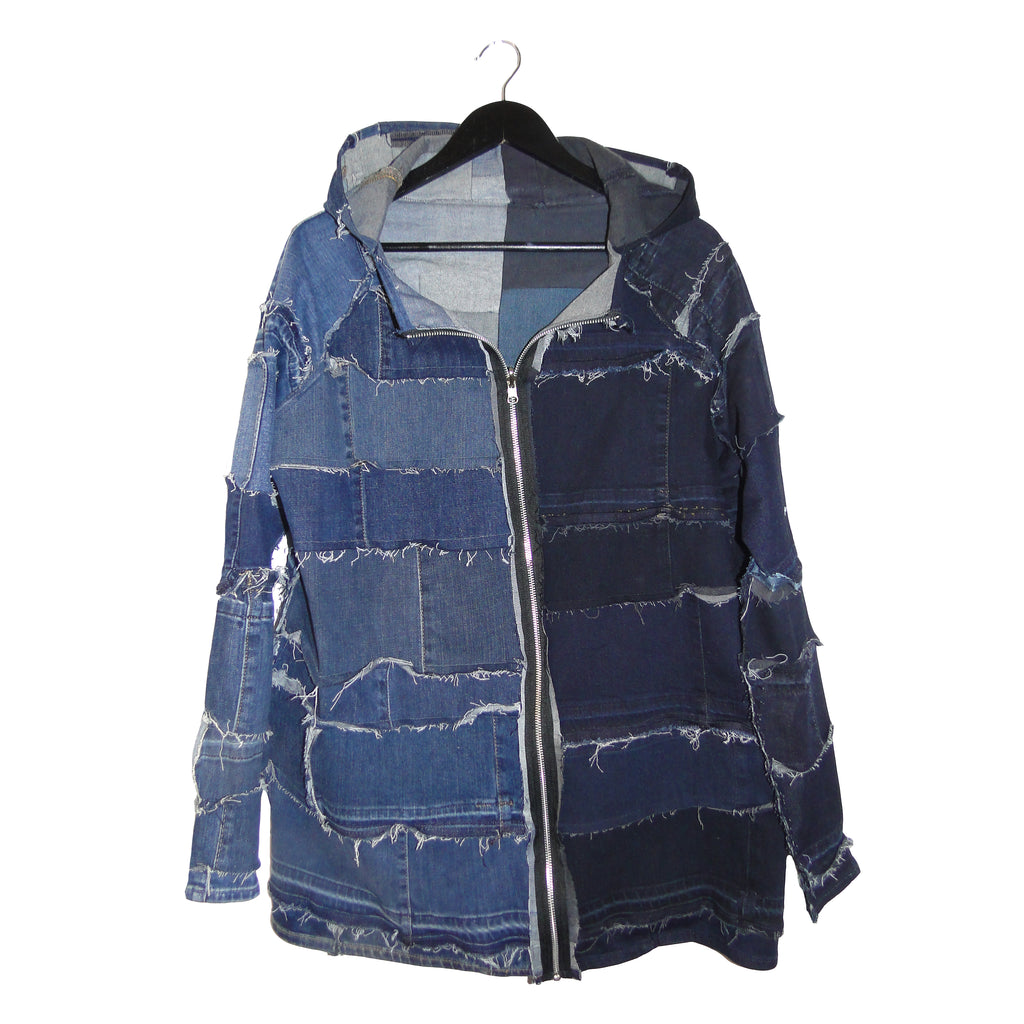 Stevie Leigh upcycled denim jacket