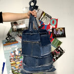 Frozen Creek - Reversible Denim Tote Bag