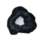 In Circles - Upcycled, Denim Scrunchie