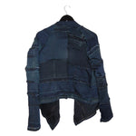 Ready to Fall - Reversible, upcycled denim jacket