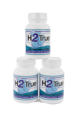 H2 True Molecular Hydrogen Supplement (60 tablets)