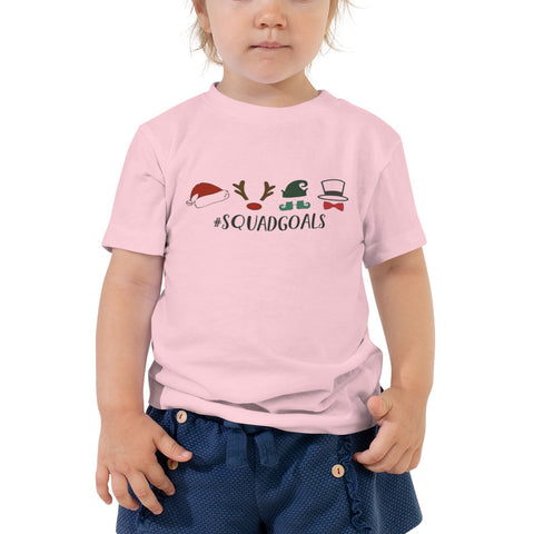 Squad Goals Toddler Short Sleeve Tee