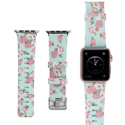 Floral Bands For Apple Watch