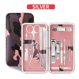 18 in 1 Stainless Steel Professional Manicure Set