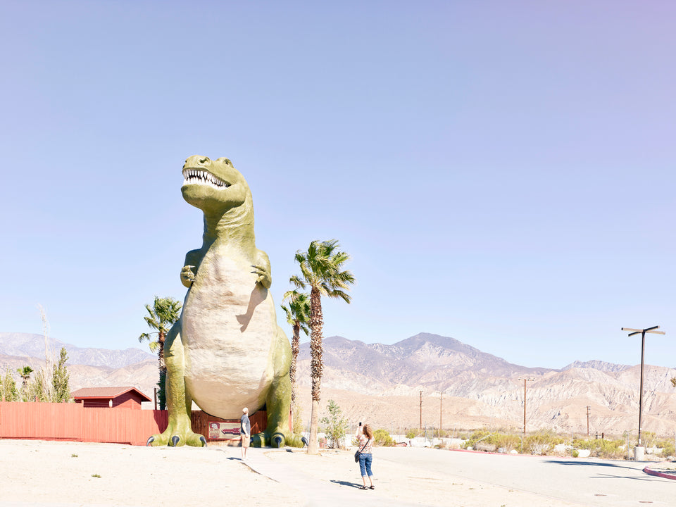 Cabazon California dinosaur park