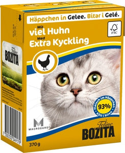 BZ Cat Häpp.Gel.Huhn     370gT