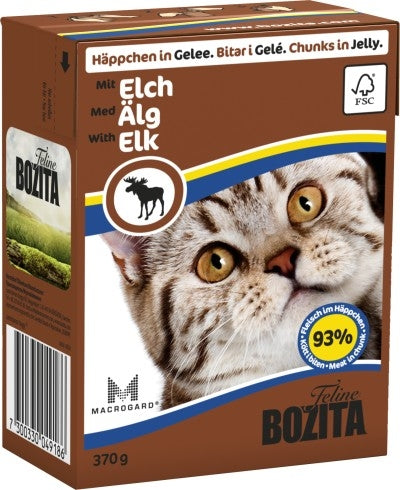 BZ Cat Häpp.Gel.Elch     370gT