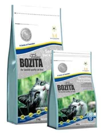Boz.Cat Diet+Stom.Sensitive2kg