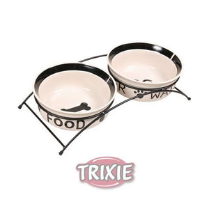 Trixie Eat On Feet Napf-Set 2 x 2,6 L