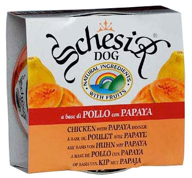 Schesir Dog Huhn m.Papaya150gD