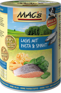 Macs Dog Lachs-Pas-Spinat400gD