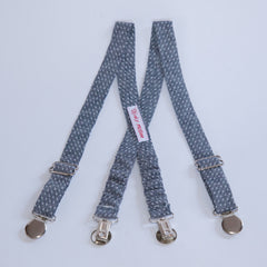 Chambray with Dots Suspenders