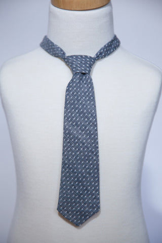 Chambray with Dots Necktie
