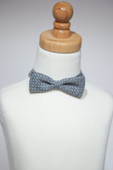 Chambray with Dots Bowtie