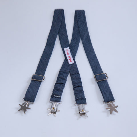Denim Suspenders