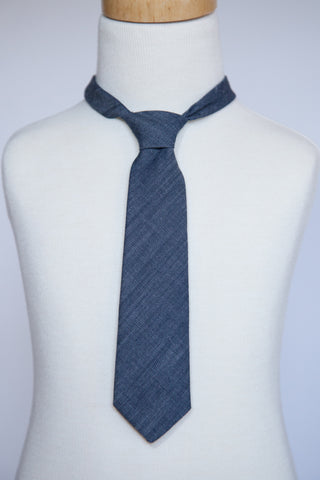 Denim Necktie