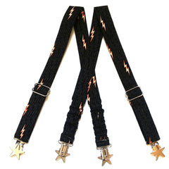 Lightning Bolt Suspenders