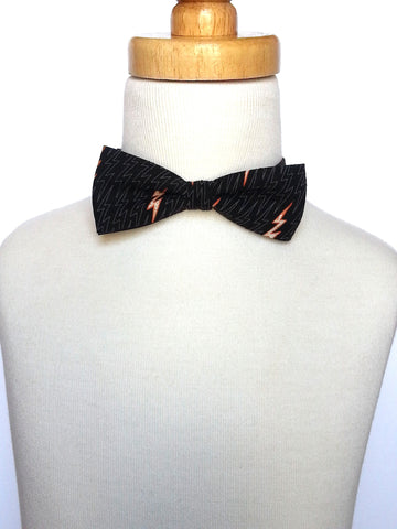 Lightning Bolt Bowtie *As Seen in Earnshaw's Sept 2014 Issue*