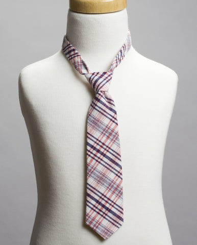 Pink Plaid Neck Tie- *As Seen on NBC's Today Show*