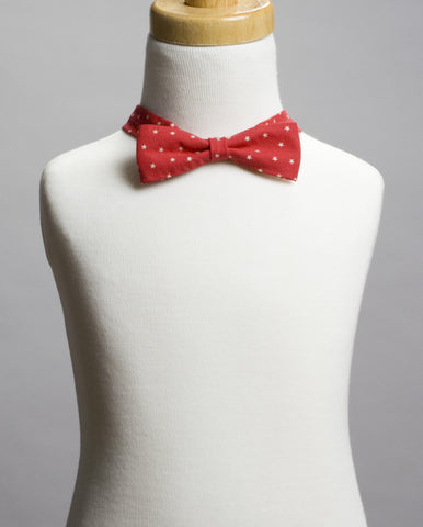 Red with Stars Bow Tie