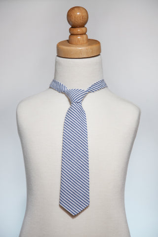Seersucker NeckTie *As Seen in Earnshaw's September 2014*