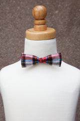 Holiday Plaid Bow Tie *As Seen on NBC's Today Show*