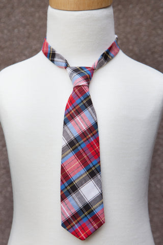 Holiday Plaid Neck Tie
