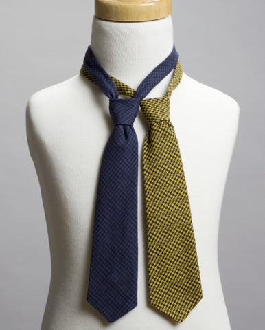 Houndstooth Neck Tie Set