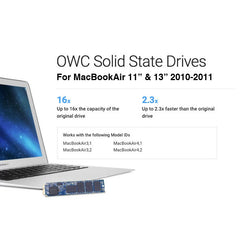 OWC Aura Pro 6G SSD for MacBookAir 2010 and 2011