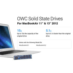 OWC Aura Pro 6G SSD for MacBookAir 2012