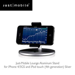 Just Mobile Lounge Aluminum Stand