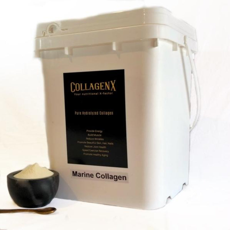 4.5kg bulk tub collagenx pure hydrolysed marine collagen powder