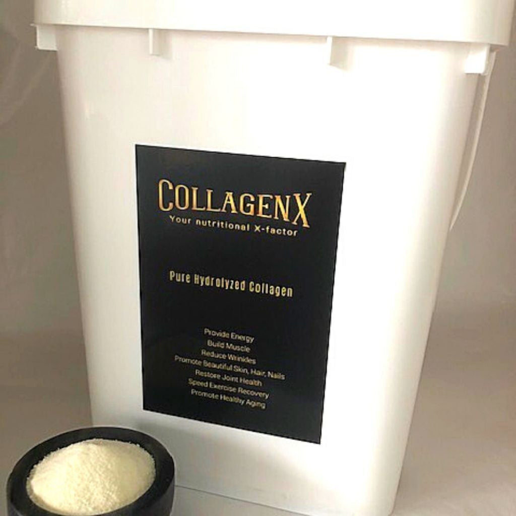 4.5kg bulk tub Collagenx pure hydrolysed collagen powder