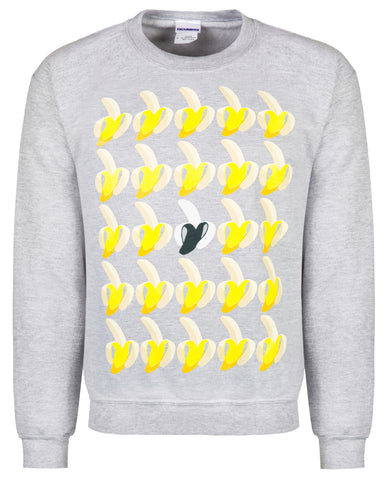 Bananas on Grey